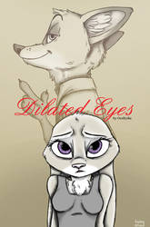 Dilated Eyes ~ Fan Cover by Ziegelzeig