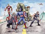 Avengers Fan Art! by MaryDoodles