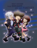 The KH3 trio by sofibeth