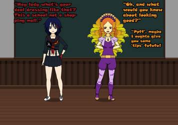 Ryuko goes Dazzling by TiarasTwilight