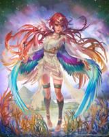 Isis 2/4 (C) CyberAgent - 'Tenku no Crystalia' by muddymelly