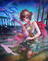 Arion 1/4 (C) CyberAgent - 'Tenku no Crystalia' by muddymelly