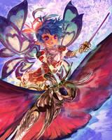 Dinacy 2/4 (C) CyberAgent - 'Tenku no Crystalia' by muddymelly