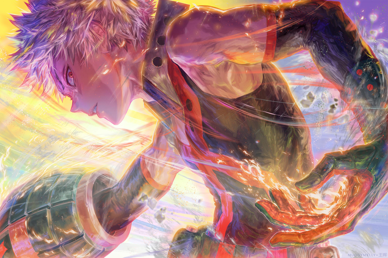 EXPLODE KILL KING/LORD (Katsuki Bakugou) by muddymelly