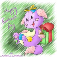 Happy Kacheek Day by Ayrsayle