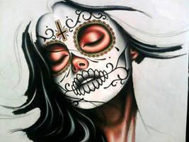 Sugarskull by skullsinbloom