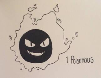 Inktober | 1: Poisonous by felinesnorez