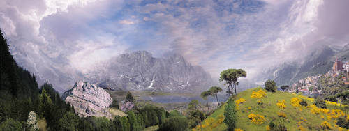 Landscape Flyby Matte by PlasmaX7