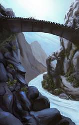 Canyon Bridge by PlasmaX7