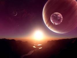 Collab: stellar dawn by PlasmaX7