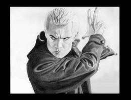 Spike the Big Bad Vampire by SarahSilva