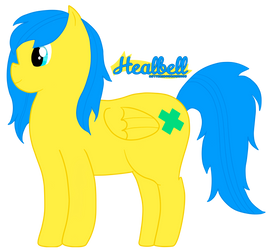 MLP OC: Healbell the Pegasus by Astteria