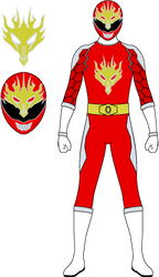 Denki Sentai Mecharanger MechaRed by Ayahime0