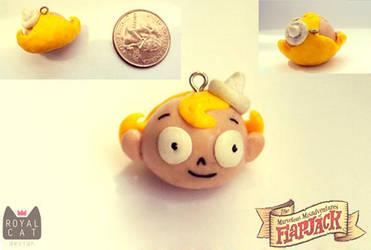 Flapjack Charm by RoyalCatDesign