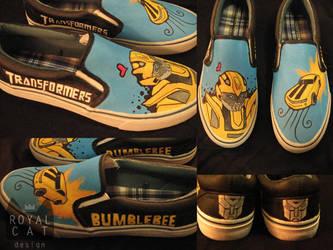 Bumblebee Shoes by RoyalCatDesign