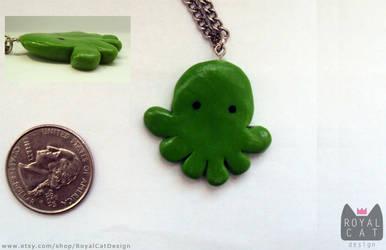 Octopus Necklace by RoyalCatDesign