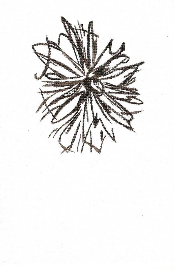 Flower Sketch in Paint by IWishIHadWingZ