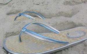 Sandy Shoes by IWishIHadWingZ