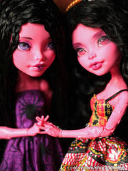 Gooliope Sisters (Monster High Gooliope) by Armeleia