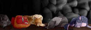 [YCH] Sleeping by StarCanid