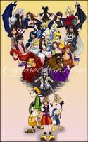 Kingdom Hearts by I-heart-Link