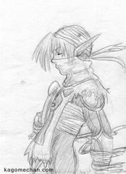 LOZ Ocarina of Time: Shiek by I-heart-Link