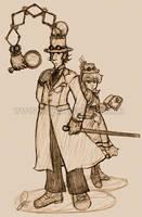 Steampunk Inspector Gadget by I-heart-Link