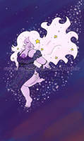 Steven Universe: Amethyst Star Dancing by I-heart-Link