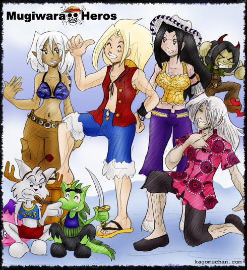 RPG World: Mugiwara Heros by I-heart-Link