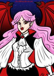 Vampire Girl by I-heart-Link
