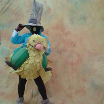 Finished Chocobo and Vivi Cosplay Costume 2014 by BigMamaBear