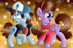 Dipper and Mabel Ponified by MLPegasis4898