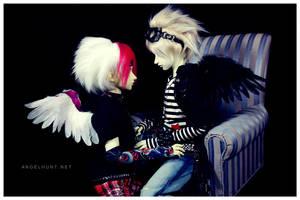 The Angel and his Dark by Nezumi-chuu
