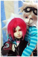 Pink and Blue by Nezumi-chuu