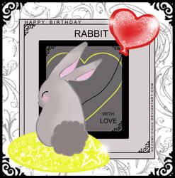Happy Birthday Rabbit by Nezumi-chuu