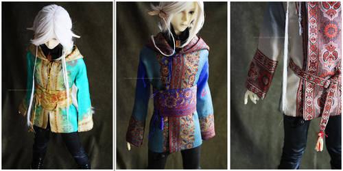 Shoppe : Hooded Traveling Coats by Nezumi-chuu