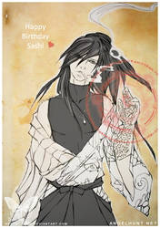 Angel Hunt and Streifen : Happy Birthday Sashi by Nezumi-chuu