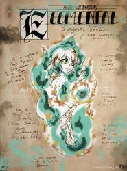 Angel Hunt Beastiary: Elemental by Nezumi-chuu