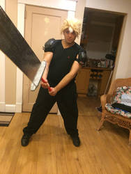 Cloud Strife Original FF7 Outfit #1 by SpanishDexter