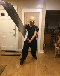 Cloud Strife Original FF7 Outfit #2 by SpanishDexter