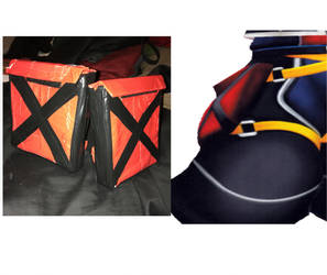 Sora KH2 Storage Pouches for Cosplay by SpanishDexter