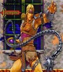 Castlevania x Super Smash Bros. Simon Belmount by TheGreatDevin