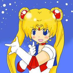 Sailor Moon by babythestarsshine