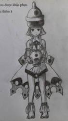 girl by UYENTHANHTCN