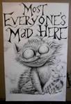 Cheshire Cat by kidbrainer