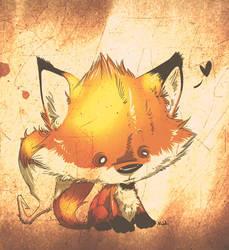 Fox by kidbrainer