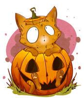 Pumpkin Willie- Commission by kidbrainer