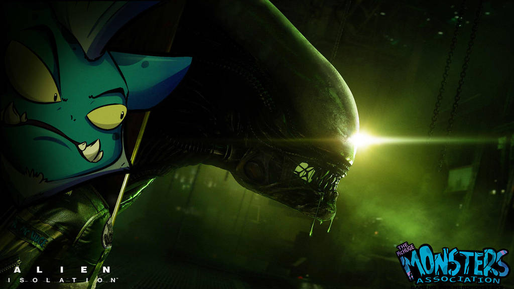 Alien Isolation with Bruce Mchuge by kidbrainer