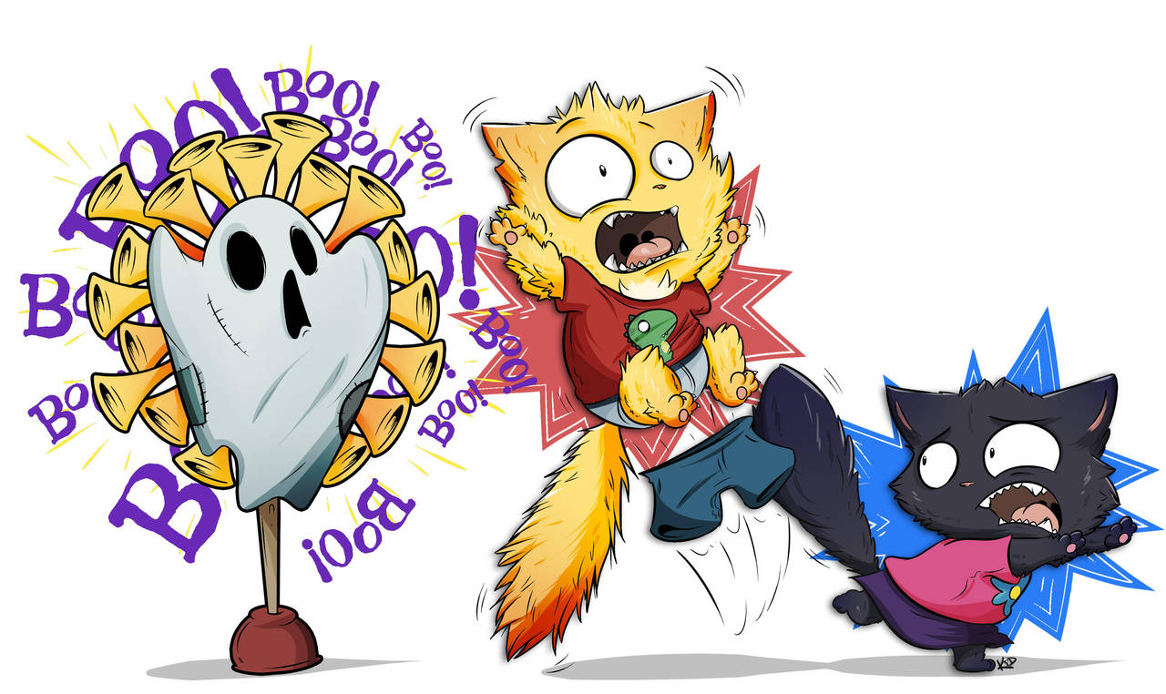 Boo! by kidbrainer