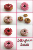 Doughnut Beads by Mimi-Mushroom